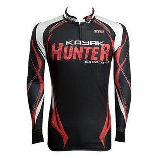 Camiseta de Pesca Kayak Hunter Brk - XG