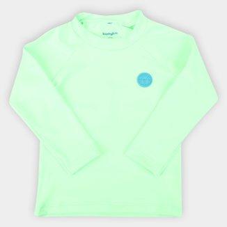 Camiseta de Praia Infantil Kamylus Splash Com Proteção UV 50+ Manga Longa Masculina