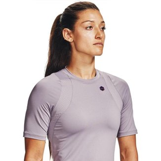 Camiseta de Treino Feminina Under Armour Rush SS