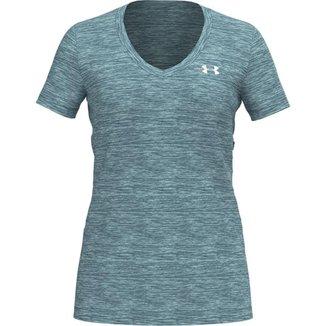 Camiseta de Treino Feminina Under Armour Tech SSV-Twist