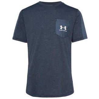 Camiseta de Treino Masculina Under Armour Sportstyle SS