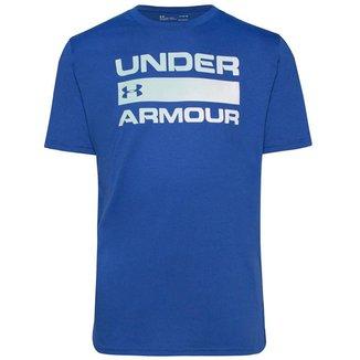 Camiseta de Treino Masculina Under Armour Team Issue