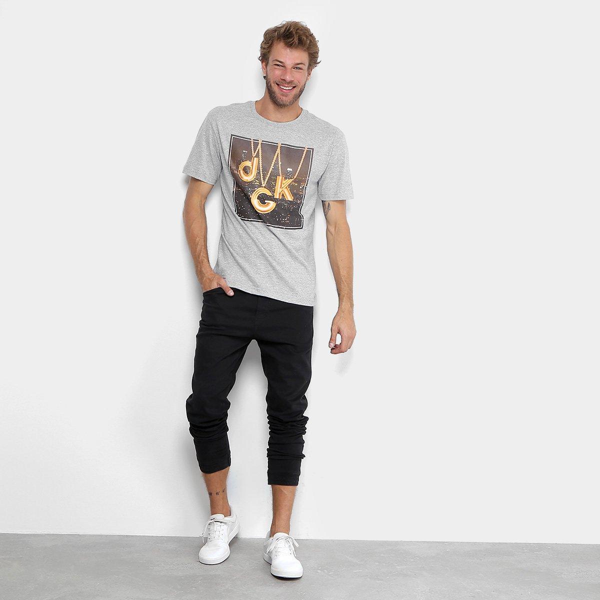 Camiseta DGK CITY LIGHTS TEE DT-3525 - Cinza - Compre Agora  cdba18ac26dd9