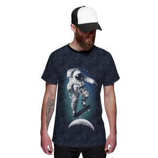 Camiseta Di Nuevo  Astronauta Skatista do Espaço Masculina