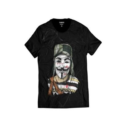 Camiseta Di Nuevo Chaves Estilo V de Vingança Vendetta Masculina - Masculino