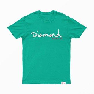 Camiseta Diamond OG Script Overdye