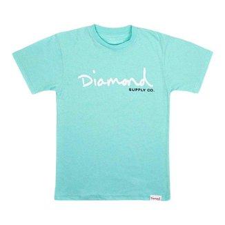Camiseta Diamond OG Script Tee Feminina
