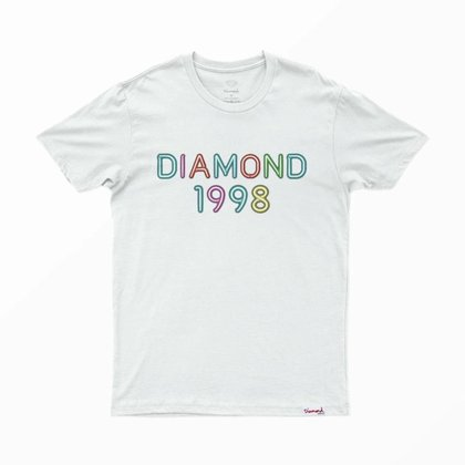 CAMISETA DIAMOND RADIANT NEON TEE - A20DMPA015