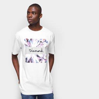 Camiseta Diamond Script Box Masculina