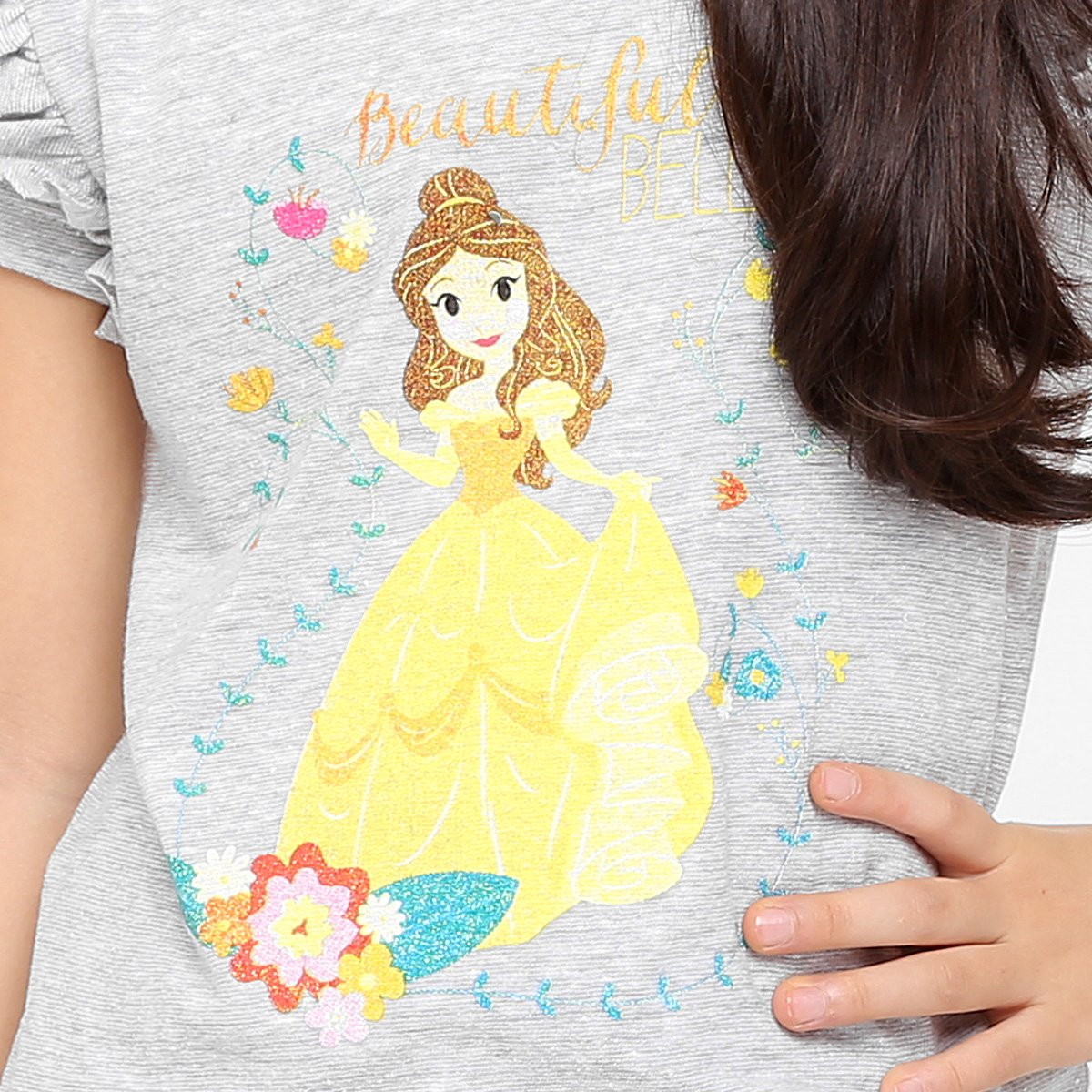 Disney Disney Bela Infantil Bela Mescla Infantil Camiseta Mescla Camiseta XS1qwUAx