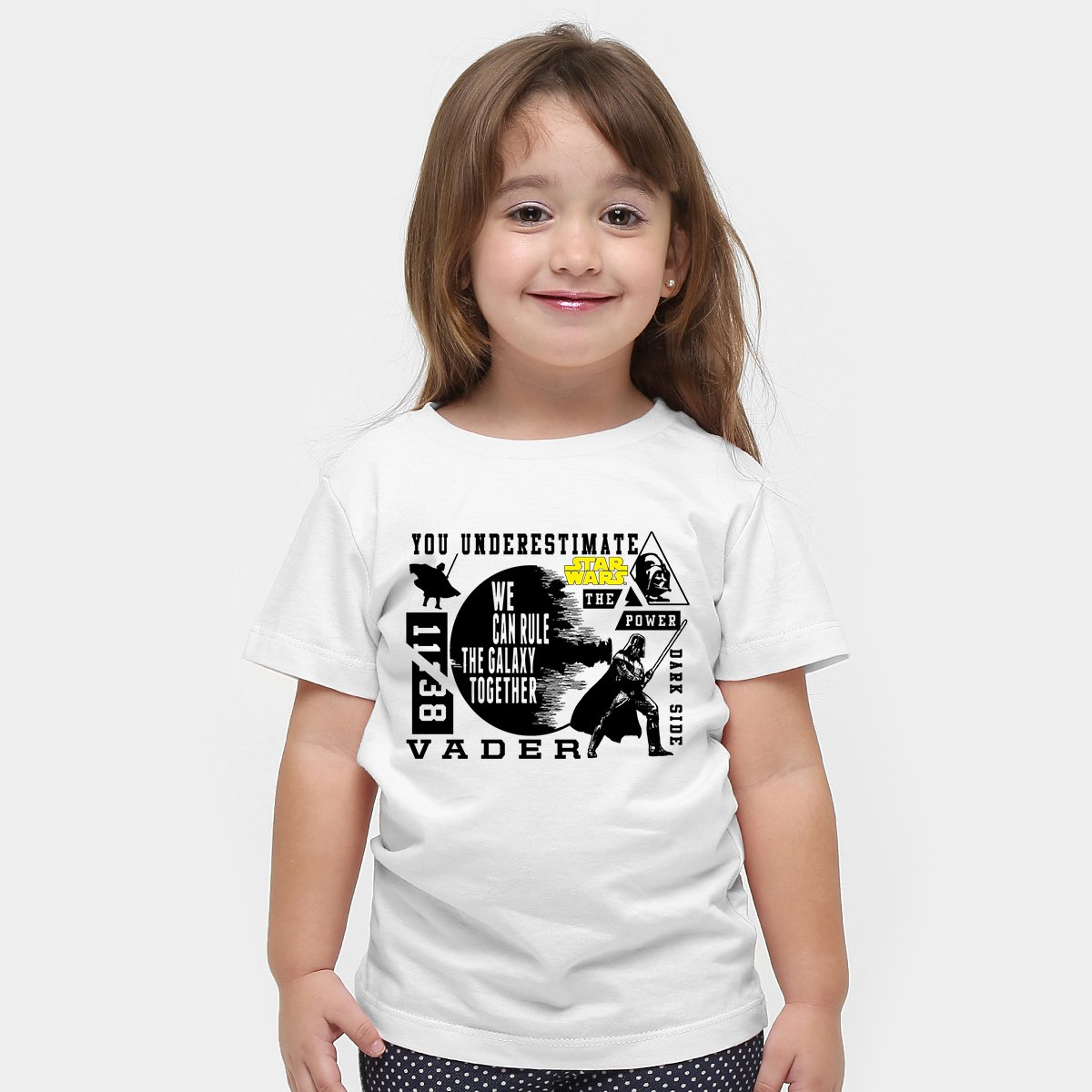 Infantil Of Disney Force Branco Wars Side Star Dark The Camiseta Vader zOgqaq