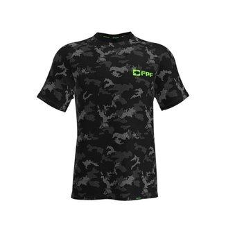Camiseta Dry Fit Camuflada - G