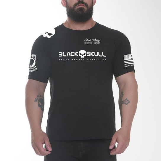Camiseta Dry Fit Soldado - Preto