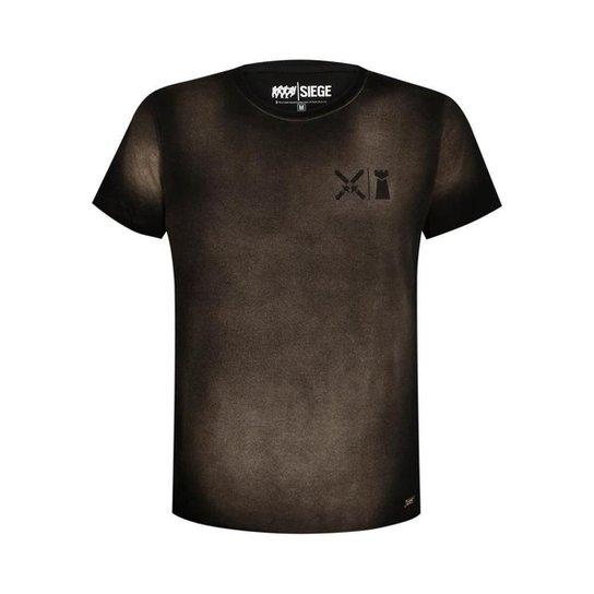 Camiseta Dust R6 Siege Ubisoft  Estonado - Preto