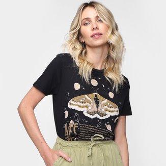 Camiseta Dzarm Fox Feminina