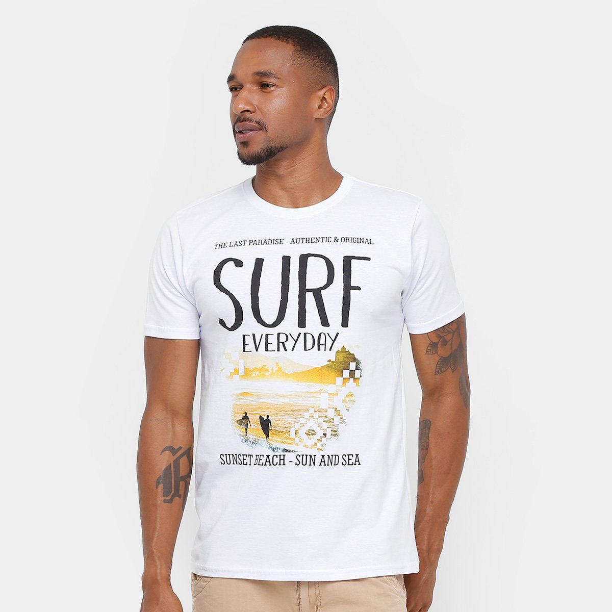 Masculina Camiseta Eagle Surf Day Eagle Branco Camiseta Brasil Every ZddS0Fwq