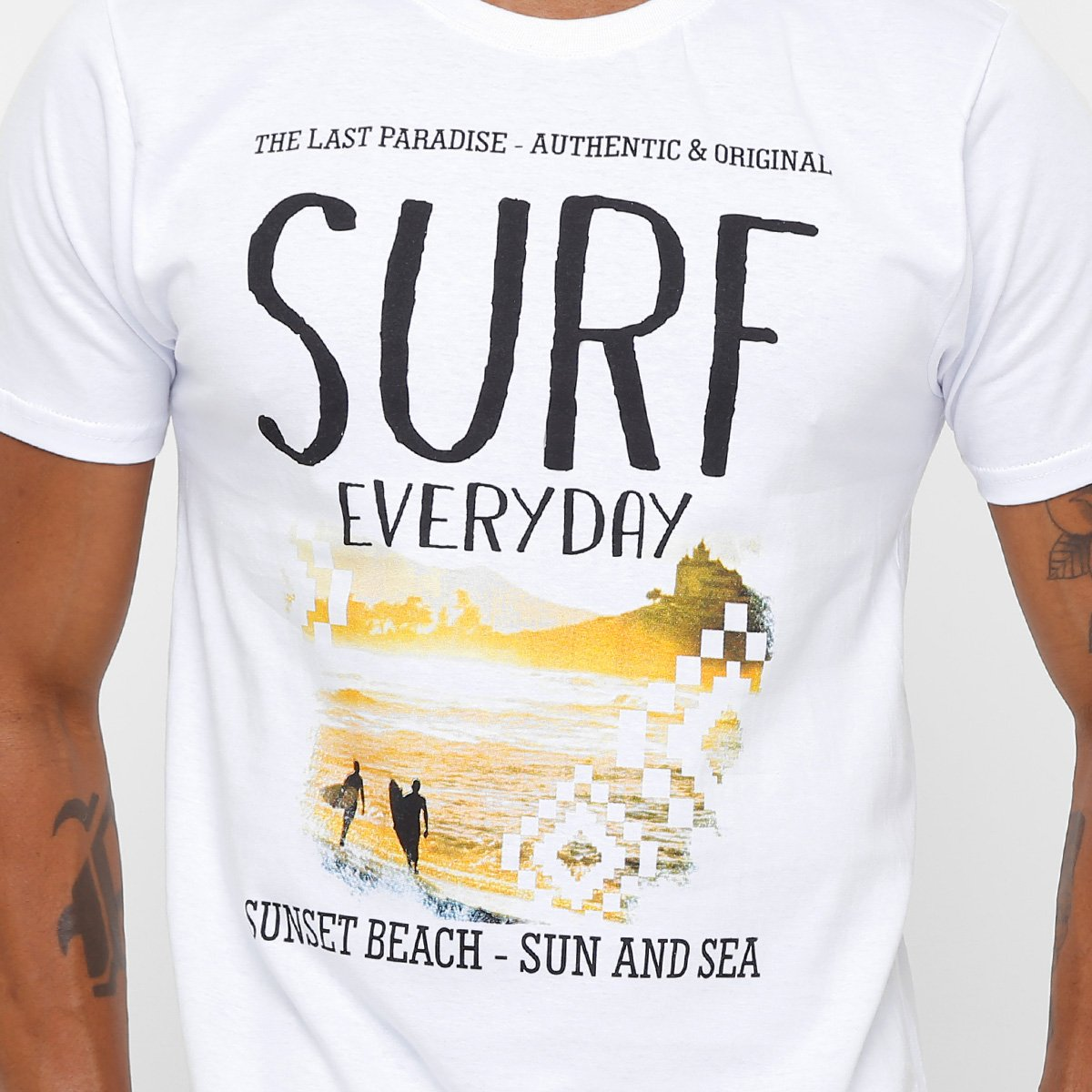 Camiseta Branco Eagle Every Masculina Eagle Brasil Day Surf Camiseta 8nawg8ESqr