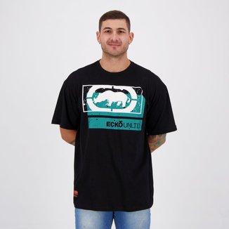 Camiseta Ecko Basic River Plus Preta