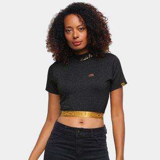 Camiseta Ecko Cropped Feminina