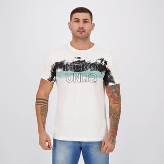 Camiseta Ecko Embossed Font Branca