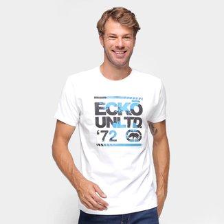 Camiseta Ecko Logo Paint Masculina