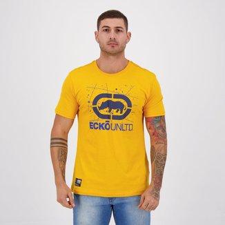 Camiseta Ecko Painted Basic Amarela