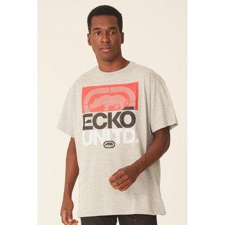 Camiseta Ecko Plus Size Estampada Masculino