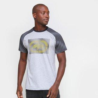 Camiseta Ecko Raglan Rhino 3D Masculina