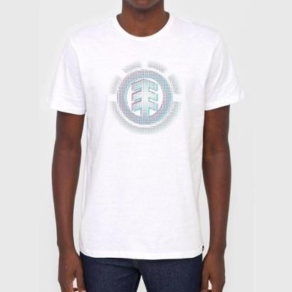Camiseta Element Gradient Logo Masculina