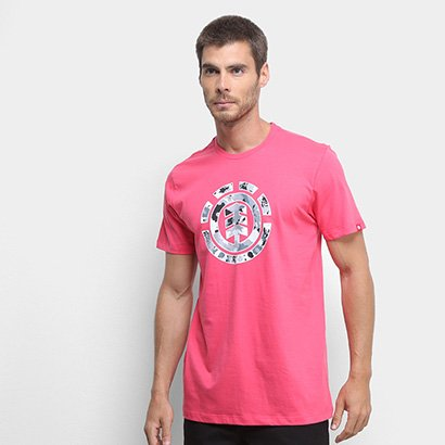Camiseta Element Multi Icon Masculina - Masculino