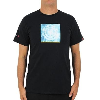 Camiseta Element Nat Geo Solvent Icon Masculina