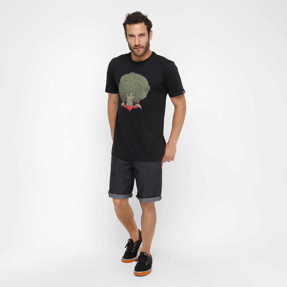 Camiseta Element Pushin Tree Ripper Masculina - Compre Agora  6adacf835cf