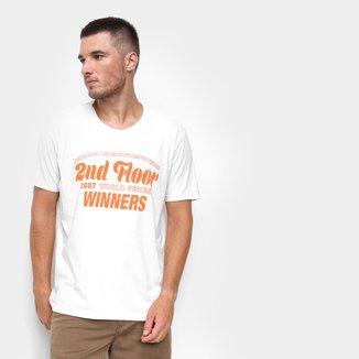 Camiseta Ellus 2nd Floor Winners Masculina