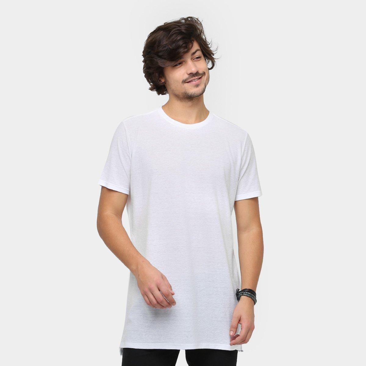 Camiseta Ellus Long Flame Masculina - Compre Agora  6107a504ad1