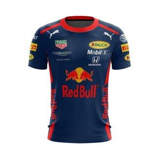 Camiseta Esporte Fórmula 1 RedBull