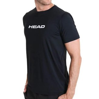 Camiseta Essential Preta - Head