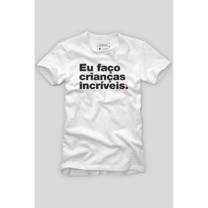 Camiseta Faço Crianças Incríveis Reserva Masculina - Masculino