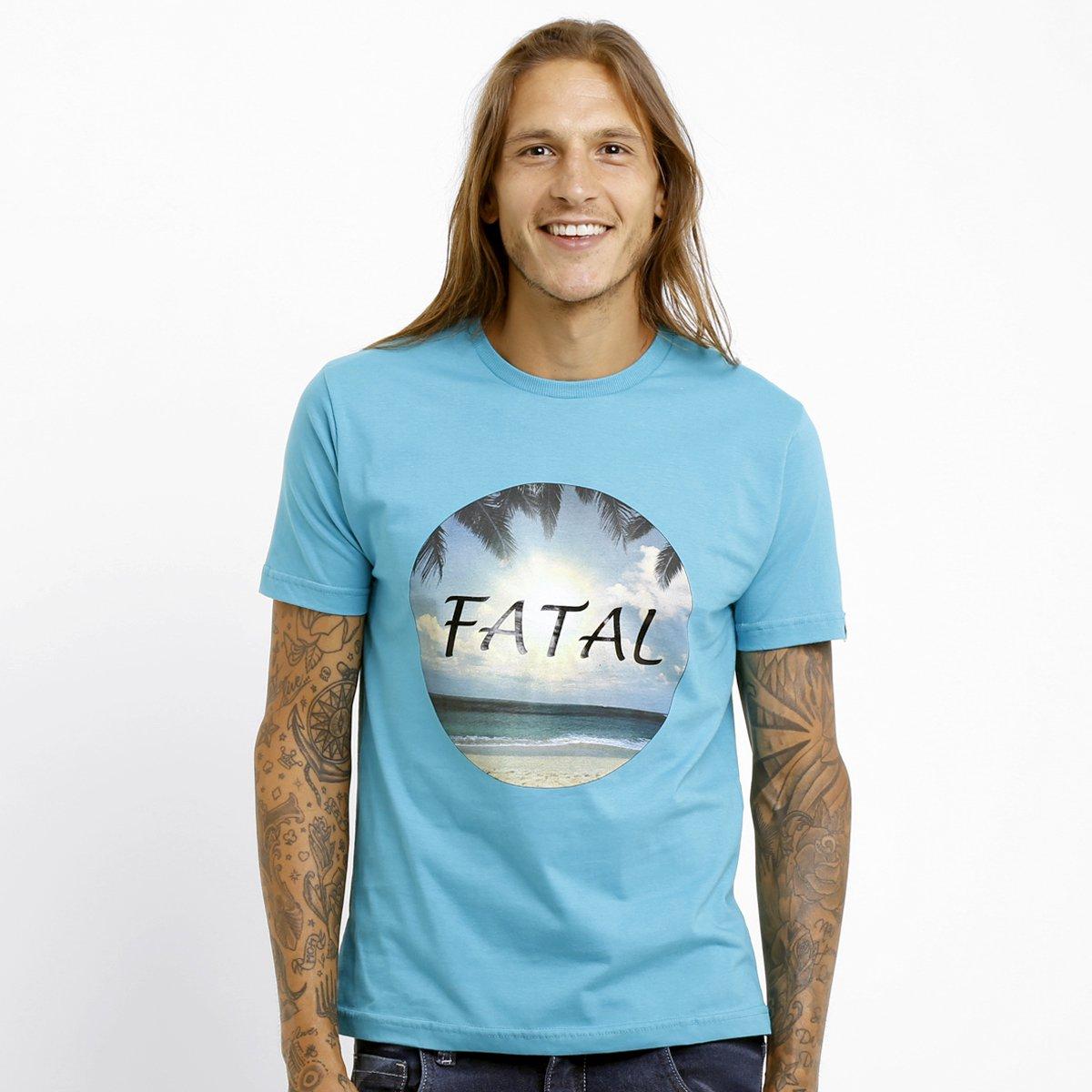 5aa3034009 Camiseta Fatal Estampada - Compre Agora