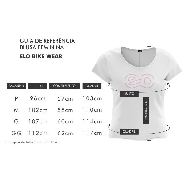 feminina Camiseta Wear Bike Camiseta Branco Bike feminina Elo TqE1f5Zw
