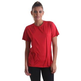 Camiseta Feminina Fresh Nossas Cores - Vermelho - P