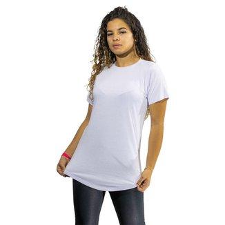 Camiseta Feminina Long Line Blusa Longa