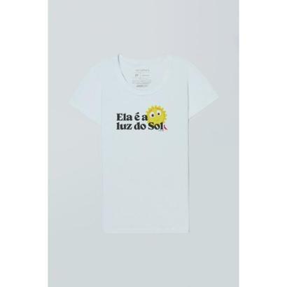 Camiseta Feminina Mundo Bita Luz do Sol Reserva