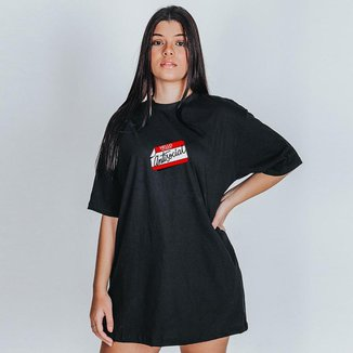 Camiseta Feminina Oversized Boutique Judith Antisocial