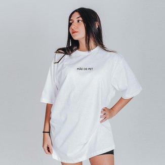 Camiseta Feminina Oversized Boutique Judith Mae de Pet