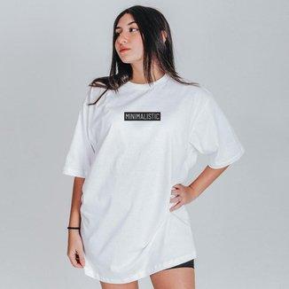 Camiseta Feminina Oversized Boutique Judith Minimalistic