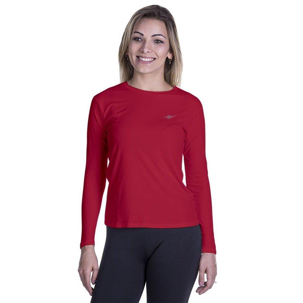 Camiseta Camiseta Vermelho Feminina UV Feminina Proteção UV 50 Proteção  qF7tzHFW1 44f02504e9212