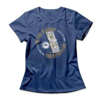 Camiseta Feminina Tetris Retro Mini Game