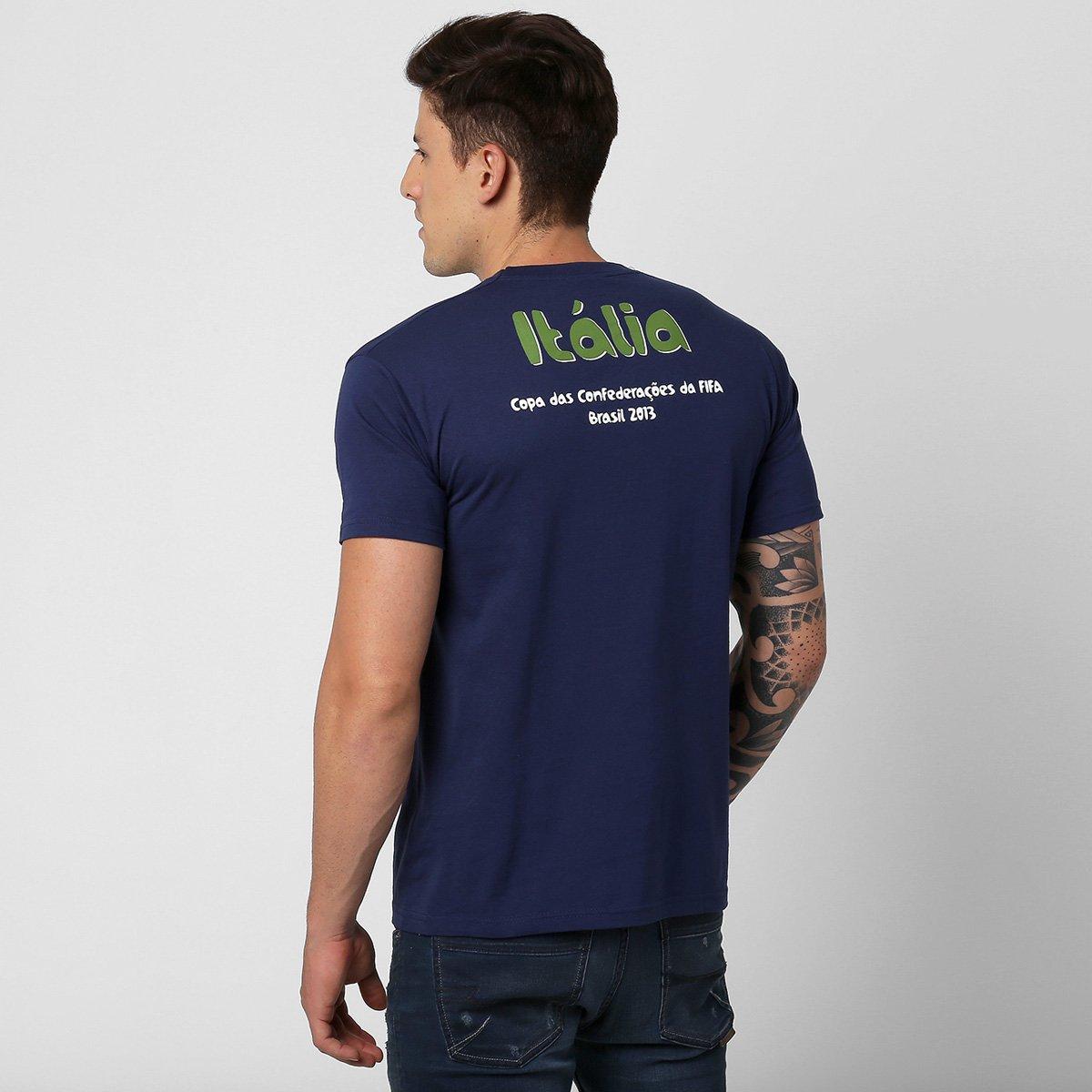Camiseta FIFA Itália Confederatio  Camiseta FIFA Itália Confederatio ... 83d712f34c407
