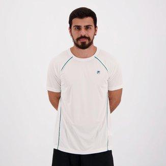 Camiseta Fila Cinci Branca e Verde