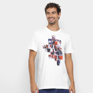 Camiseta Fila Collage Masculina